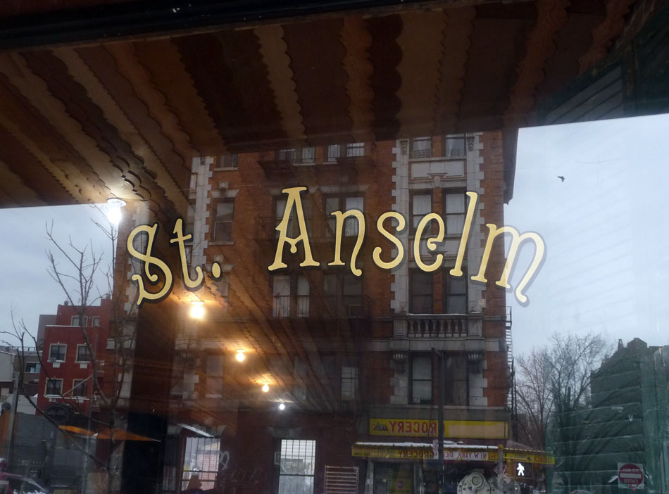St. Anselm sign